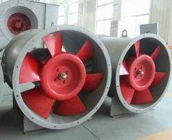 Fire fighting Smoke extraction fan